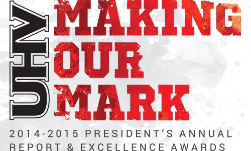 Annual Report Making your Mark 2014-2015