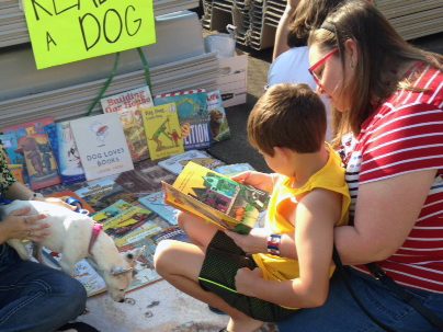 Youth read to dogs, make books at Nov. 5 children